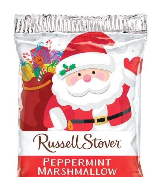 Russell Stover Milk Chocolate Peppermint Marshmallow Candy 1 oz.
