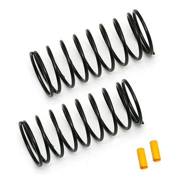 Team Associated 91331 Front Springs - Black, 12mm