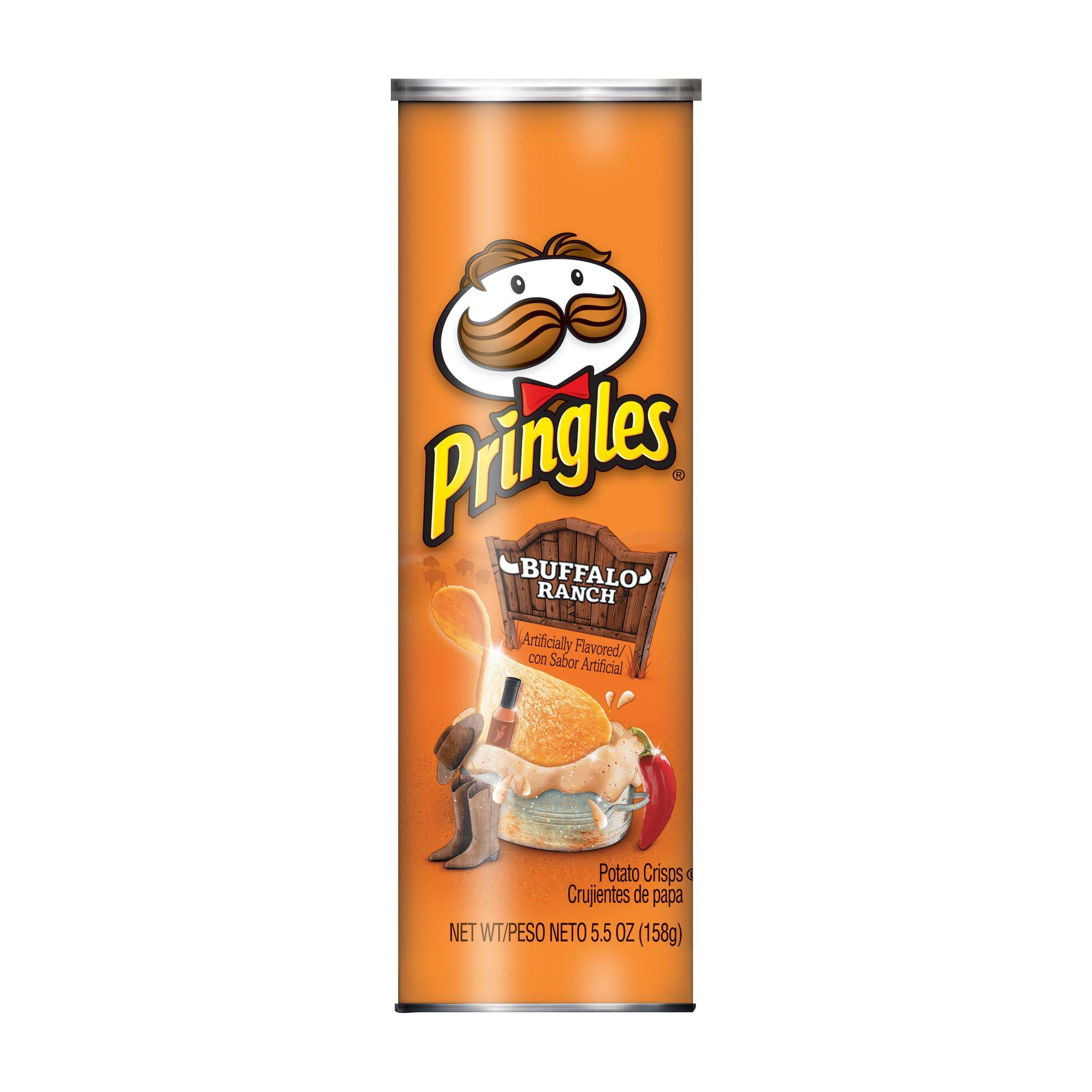 Pringles Buffalo Ranch Potato Crisps - 5.5oz