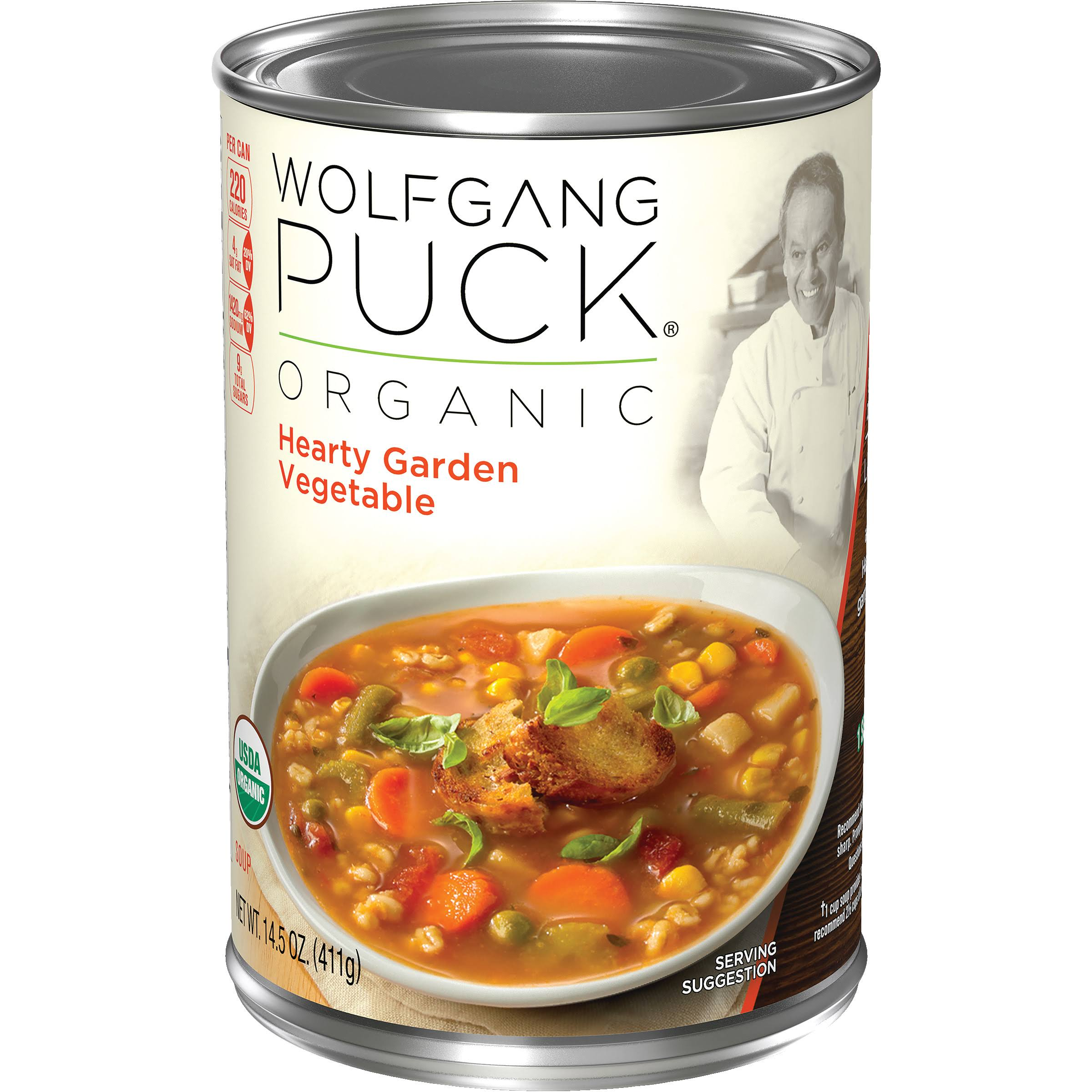 Wolfgang Puck Organic Hearty Garden Vegetable Soup - 14.5oz