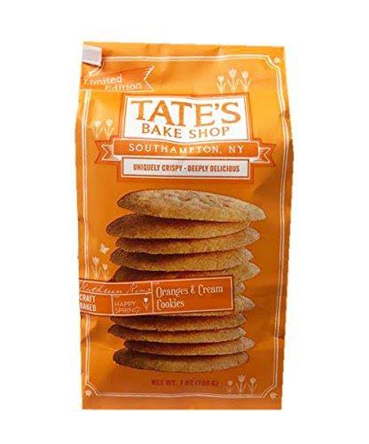Tate's Bake Shop Oranges & Cream Cookies - Natural Market - Delivered by Mercato