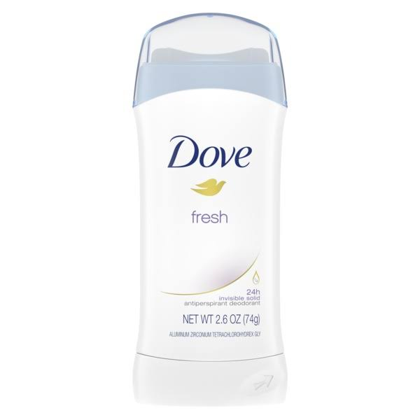 Dove Invisible Solid Anti-Perspirant Deodorant - 2.6oz, Fresh