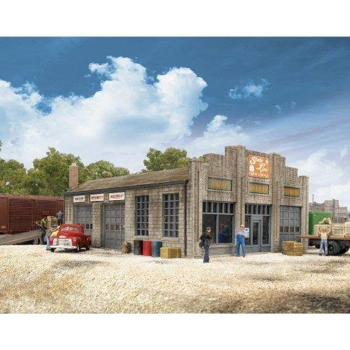 Walthers Cornerstone N Scale Building/Structure Kit State Line Farm Supply