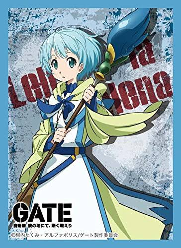 Broccoli Gate Lelei La Rellena Card Game Character Sleeve Collection Anime Human Girl Th