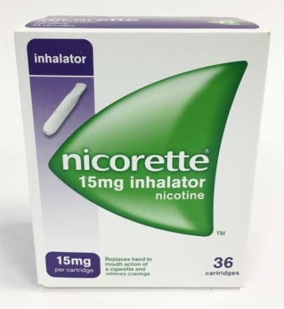 Nicorette 15mg Inhalator Cartridges Pack of 36