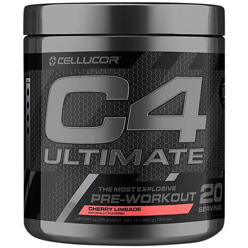 Cellucor C4 Ultimate The Most Explosive Pre-Workout Experience - Cherry Limeade, 20 Servings