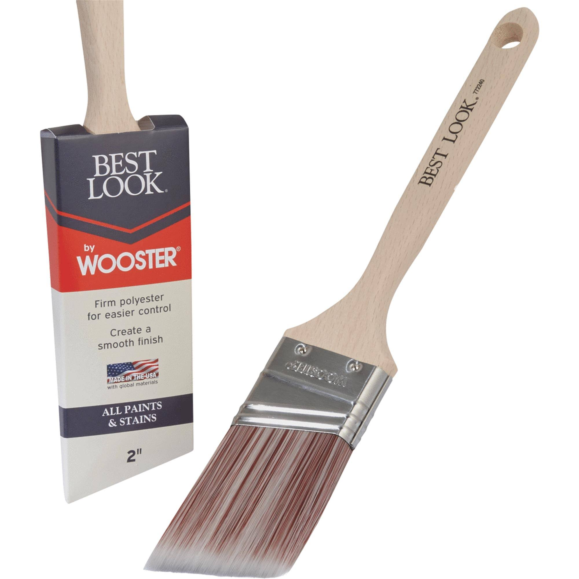 Best Look by Wooster Polyester Paint Brush - D4022-2