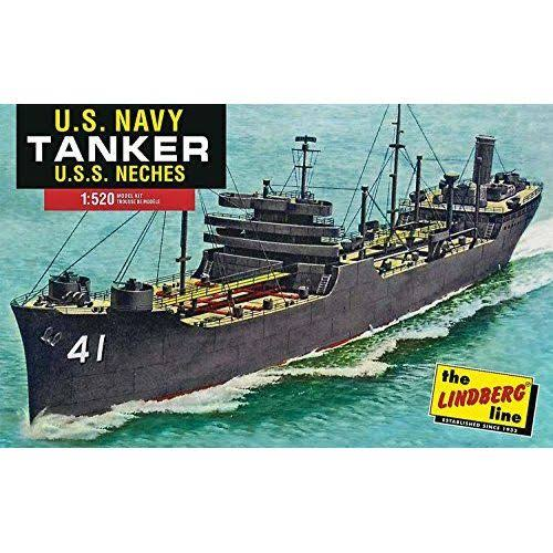Lindberg HL438 Navy Tanker Ship Plastic Model Kit