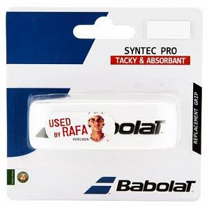 Babolat Syntec Pro Replacement Grip - White, One Size