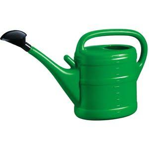 Plastic Watering Can - Green, 10l