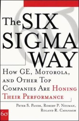 The Six Sigma Way: How Ge, Motorola, and Other Top Companies Are Honin