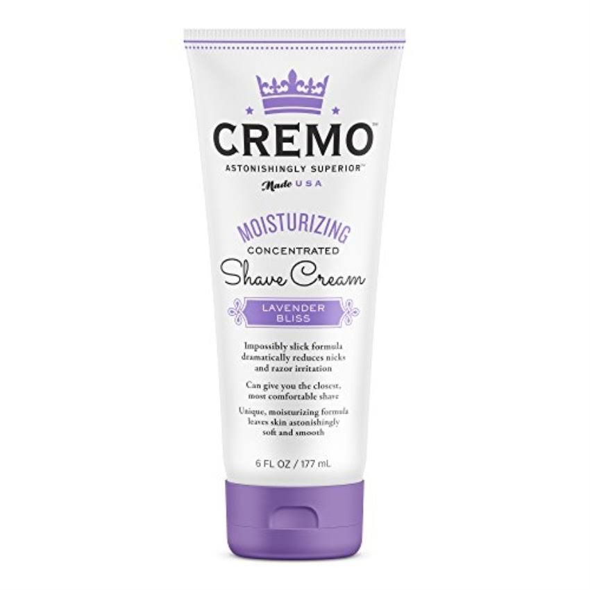 Cremo Moisturizing Concentrated Shave Cream - Lavender Bliss, 6oz