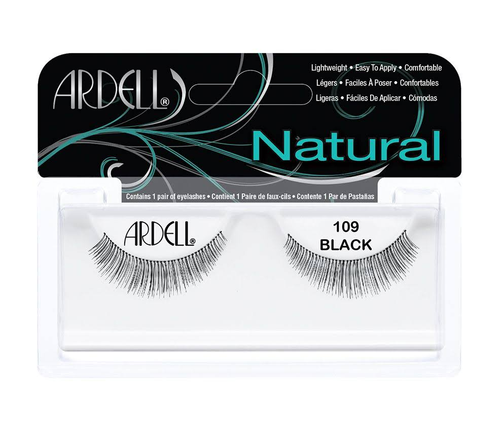 Ardell Natural Style Eye Lashes - 109 Black