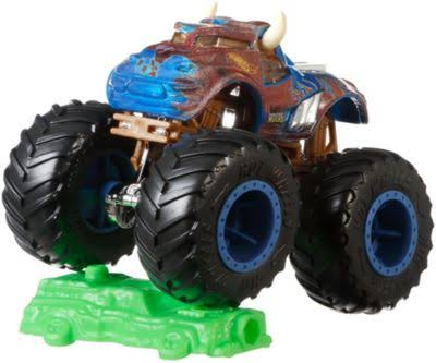 Hot Wheels Monster Trucks Toy, Bone Shaker
