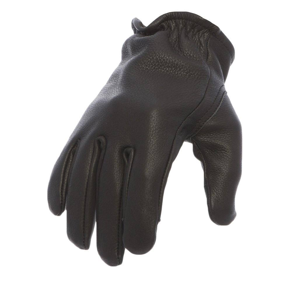 First Manufacturing Men's Roper Motorcycle Gloves - Black, XLarge