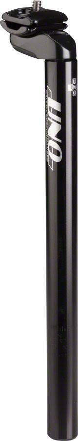Kalloy Uno 602 Seatpost - Black, 31.6mm x 350mm