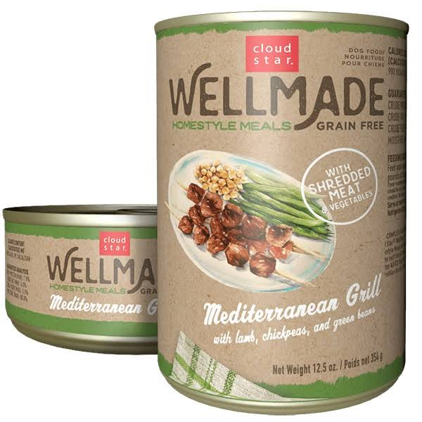 Wellmade Grain-Free Homestyle Meals - Mediterranean Grill with Lamb