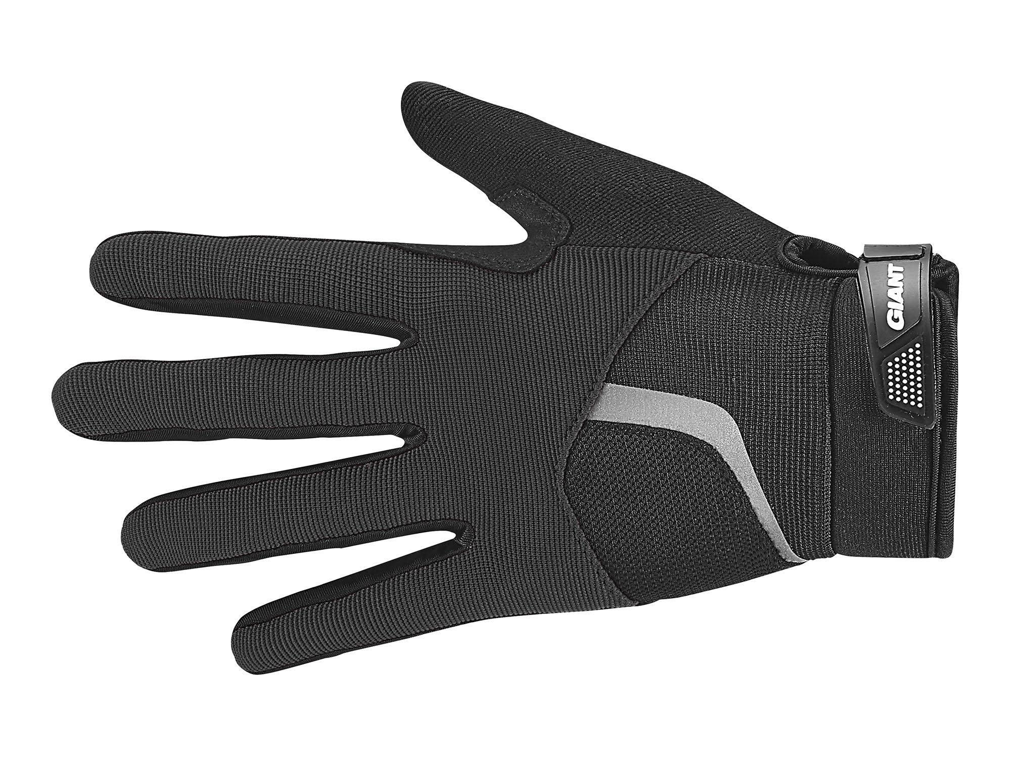 Giant Rival Long Finger Glove Black