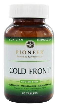 Pioneer Nutritionals Cold Front - 60 Tablets