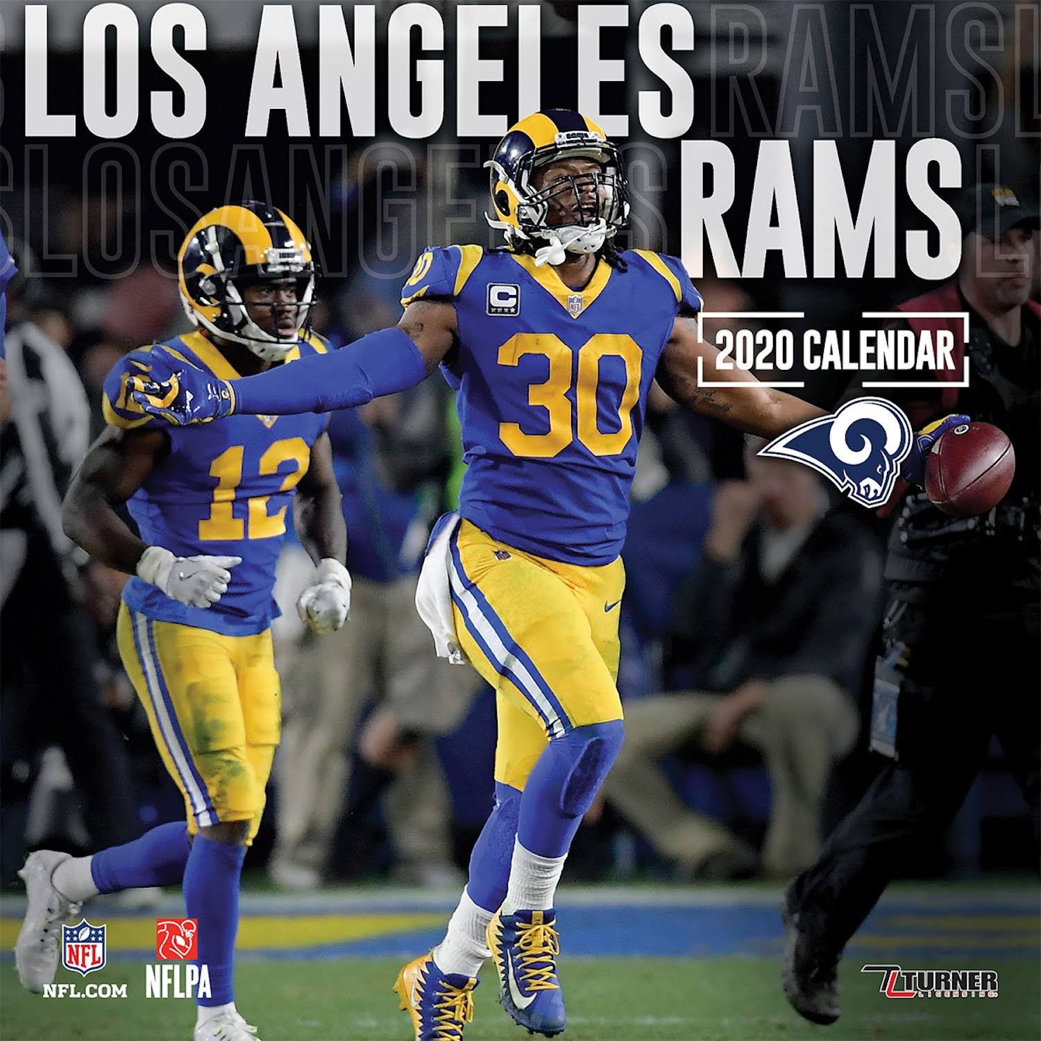 Los Angeles Rams 2020 Wall Calendar