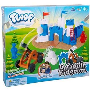 Floof Modeling Clay - Reuseable Indoor Snow - Exciting & Endless Creations with Catapult Kingdom