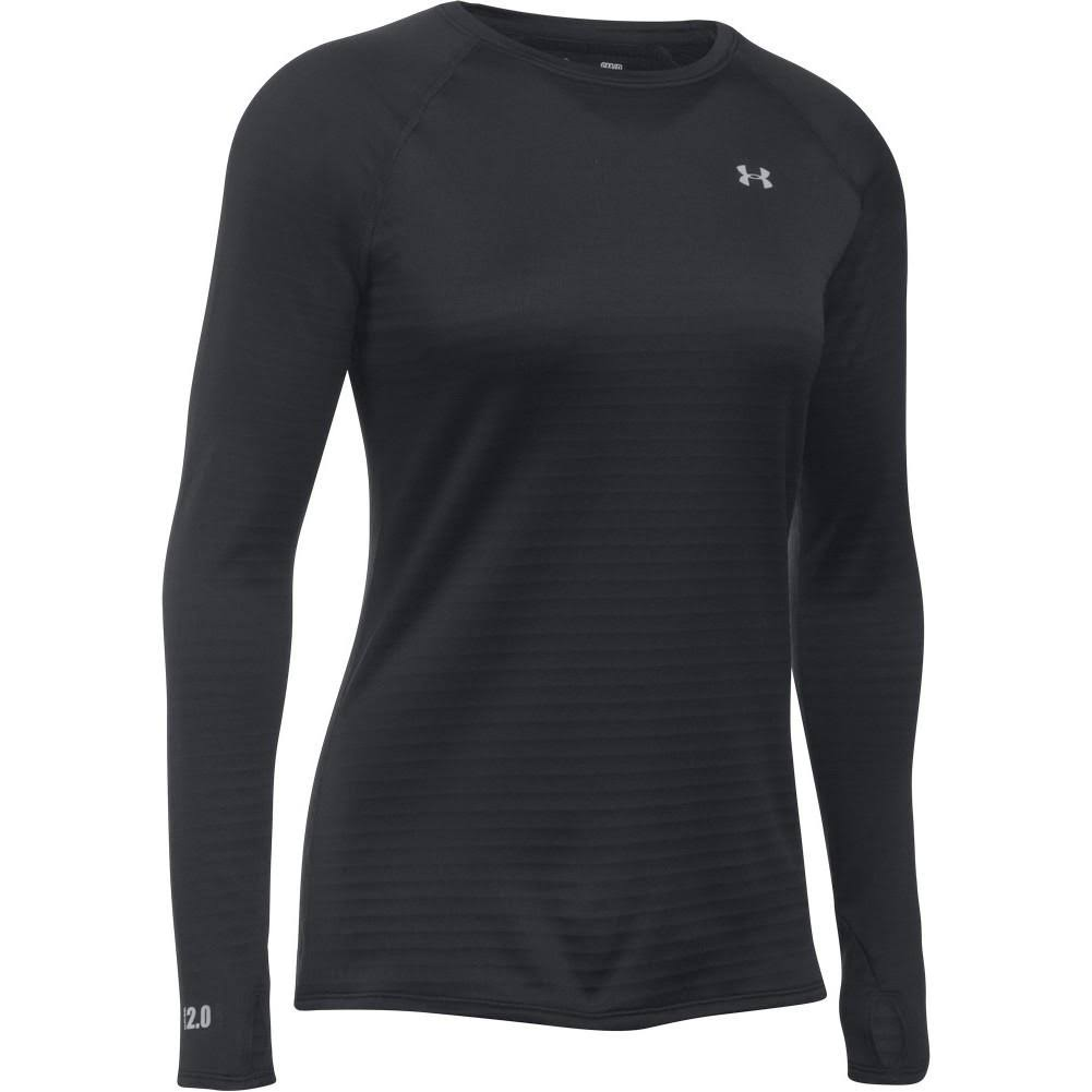 Under Armour Women's Base 2 Long Sleeve Crew Shirt - Small