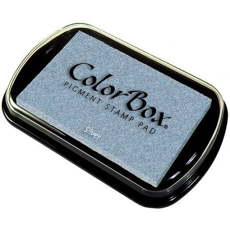 ColorBox Pigment Ink Pad - Metallic Silver, Full Size
