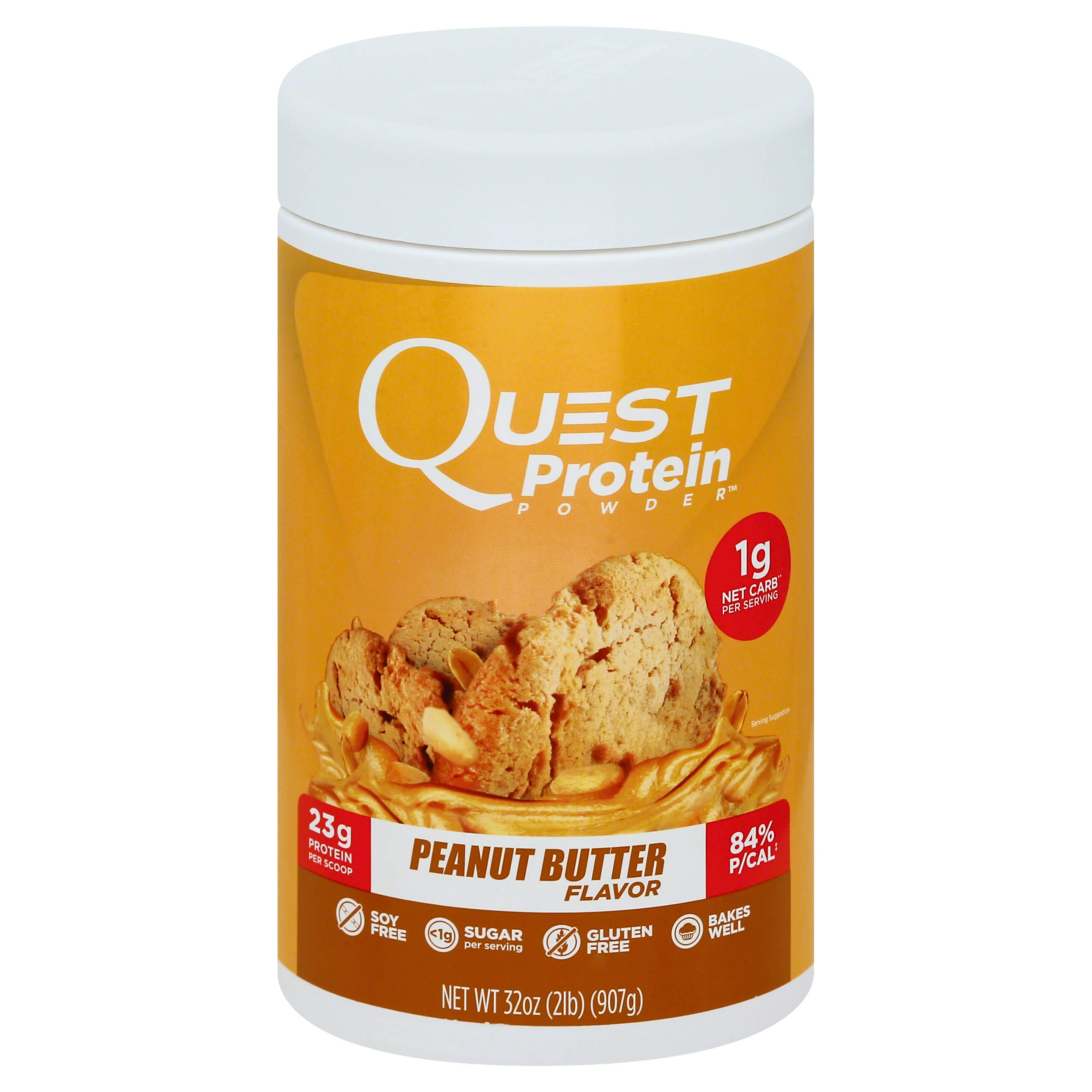 Quest Nutrition Protein Powder - Peanut Butter