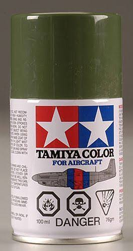 Tamiya Aircraft Spray Lacquer Paint AS-9 Dark Green