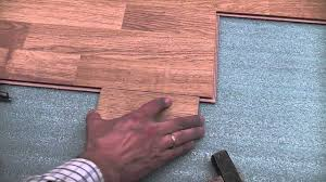 Faus Flooring Home Depot by Laminate Flooring Installation Trick Youtube