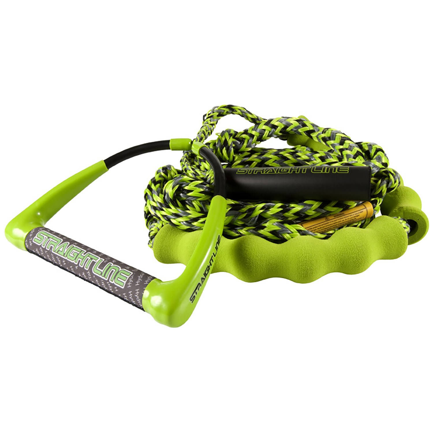 Straight Line Hydratak 10 Surf Rope 2020 in Green