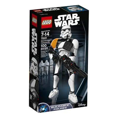 Lego Star Wars Action Figure - Stormtrooper Commander