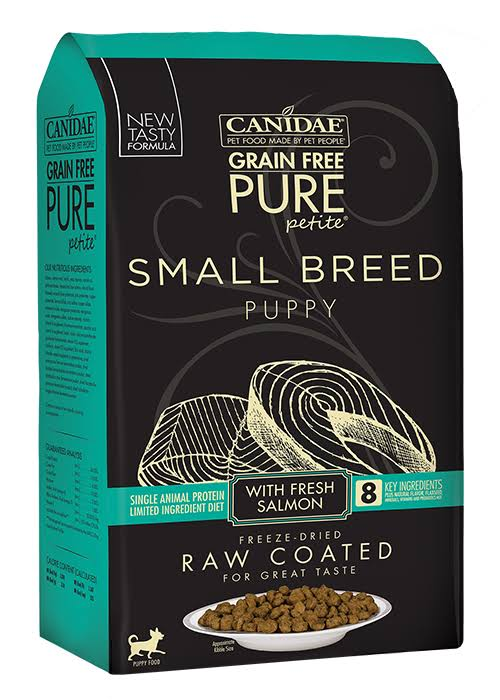 Canidae Pure Petite Small Breed Salmon Puppy Dry Dog Food, 10 lb