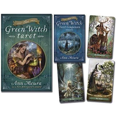The Green Witch Tarot - Ann Moura