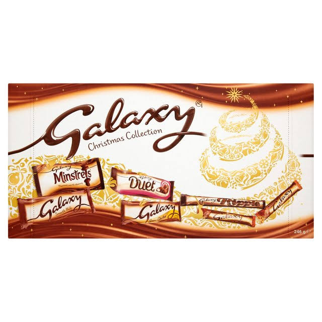 Galaxy Christmas Collection Large Selection Box - 246g
