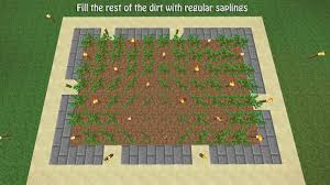 Minecraft Automatic Pumpkin Farm by How To Build A Tree Farm In Minecraft For Easy Access To All Types