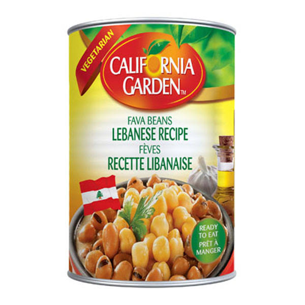 Gulf Food Industries Fava Beans - Lebanese Recipe, 400g