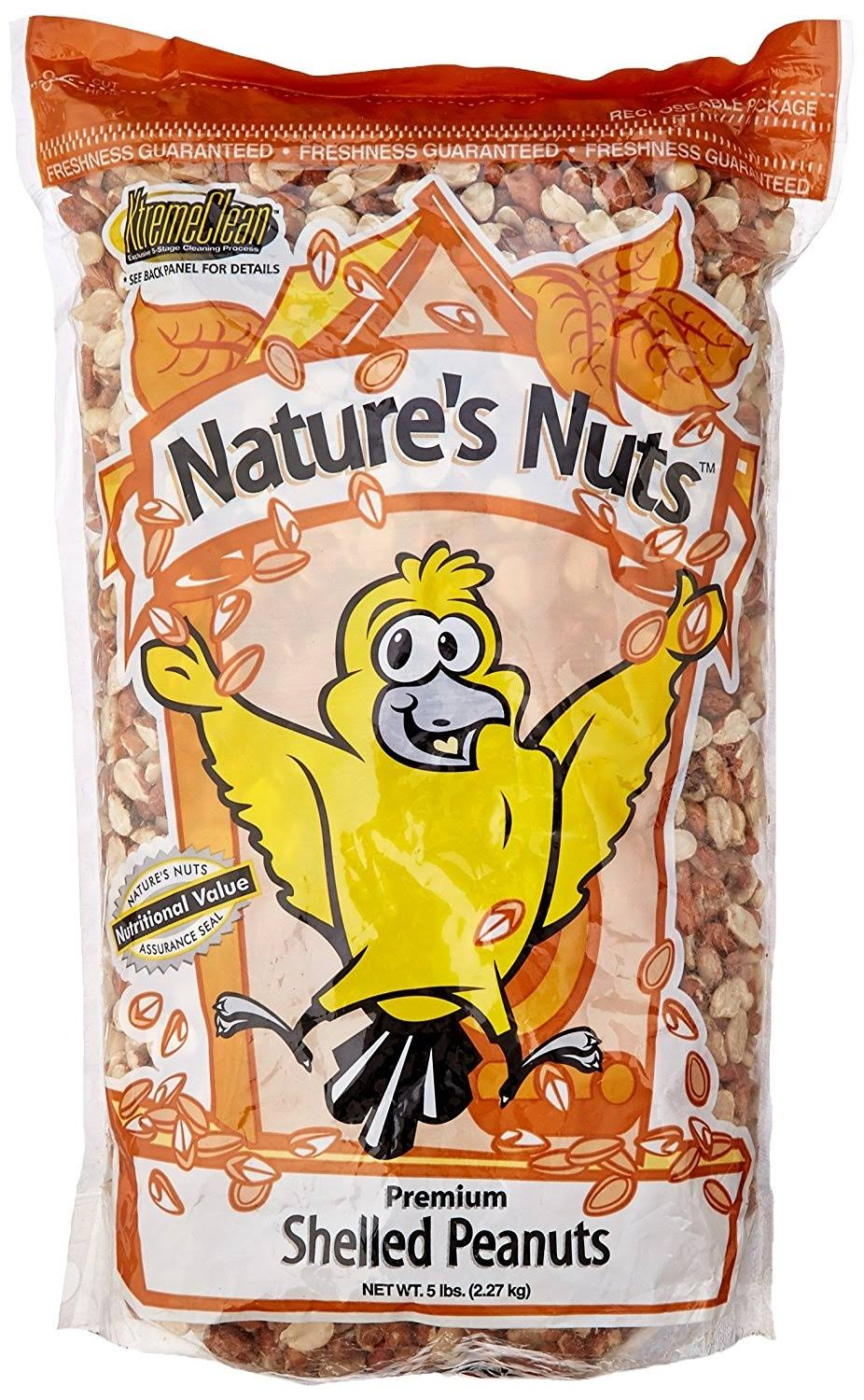 Chuckanut Products 00235 Premium Shelled Peanuts Squirrel Feeders - 5lbs