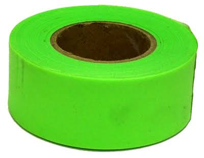 C. H. Hanson 17001 Flagging Tape - Flourescent Lime