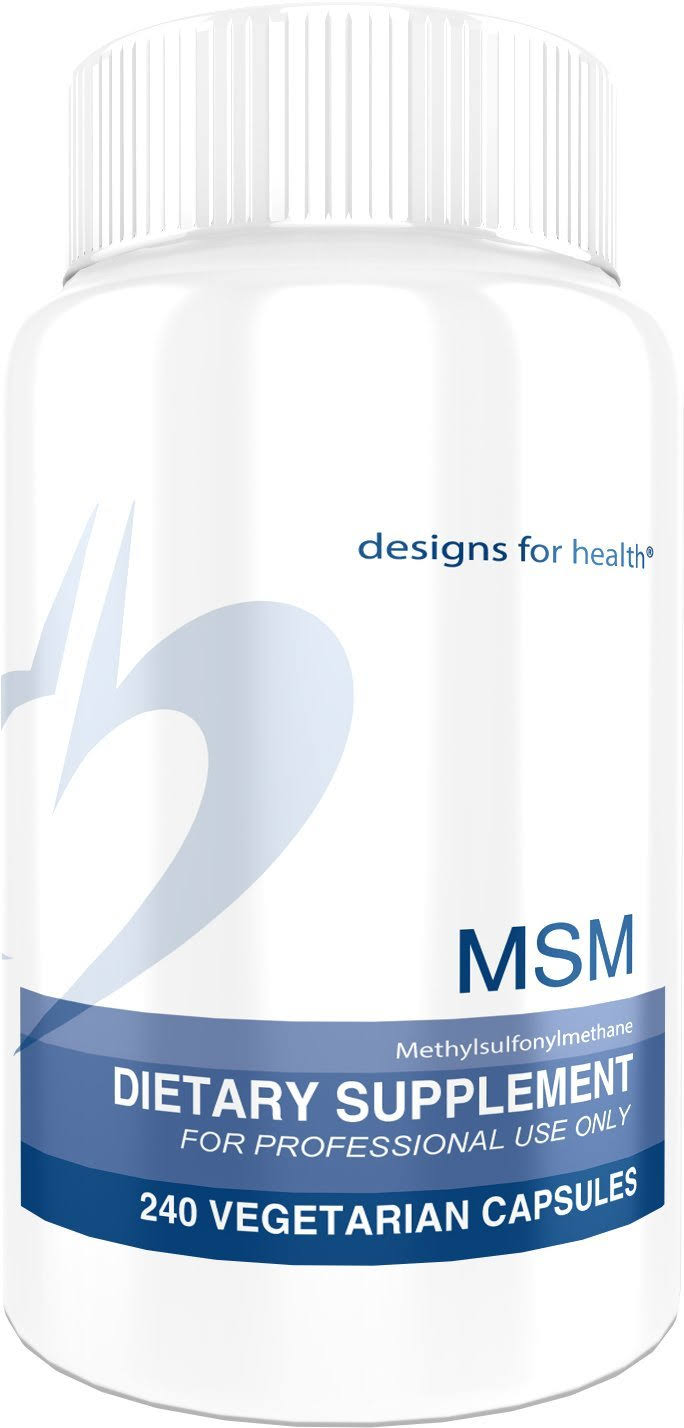 Designs for Health MSM 240 Capsules