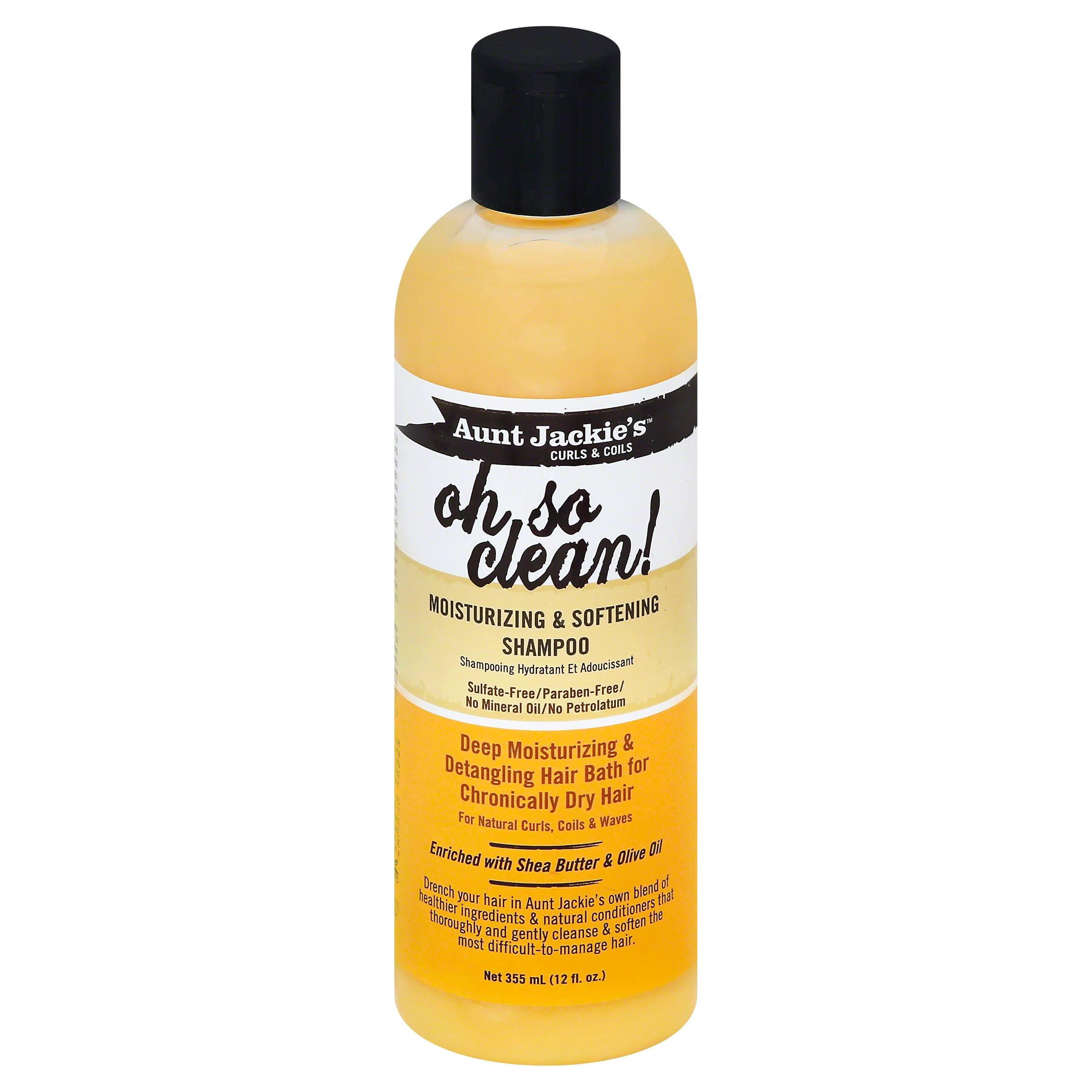 Aunt Jackie's Oh So Clean Moisturizing and Softening Shampoo - 12oz