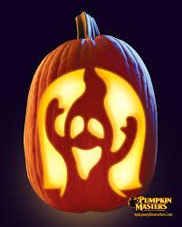 Evil Clown Pumpkin Stencils by Groaning Ghost