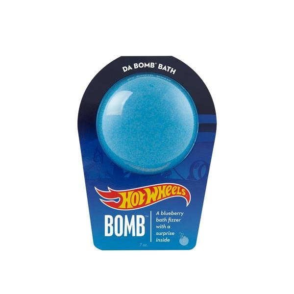 Da Bomb Bath Hot Wheels Blue Bath Bomb