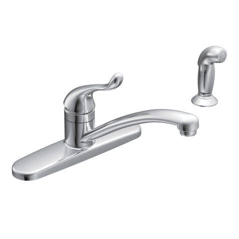 Moen Incorporated Kitchen Faucet - Chrome, Touch Control, One Handle, Low Arc