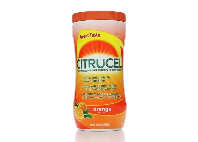Citrucel Fiber Therapy - Orange, 30oz
