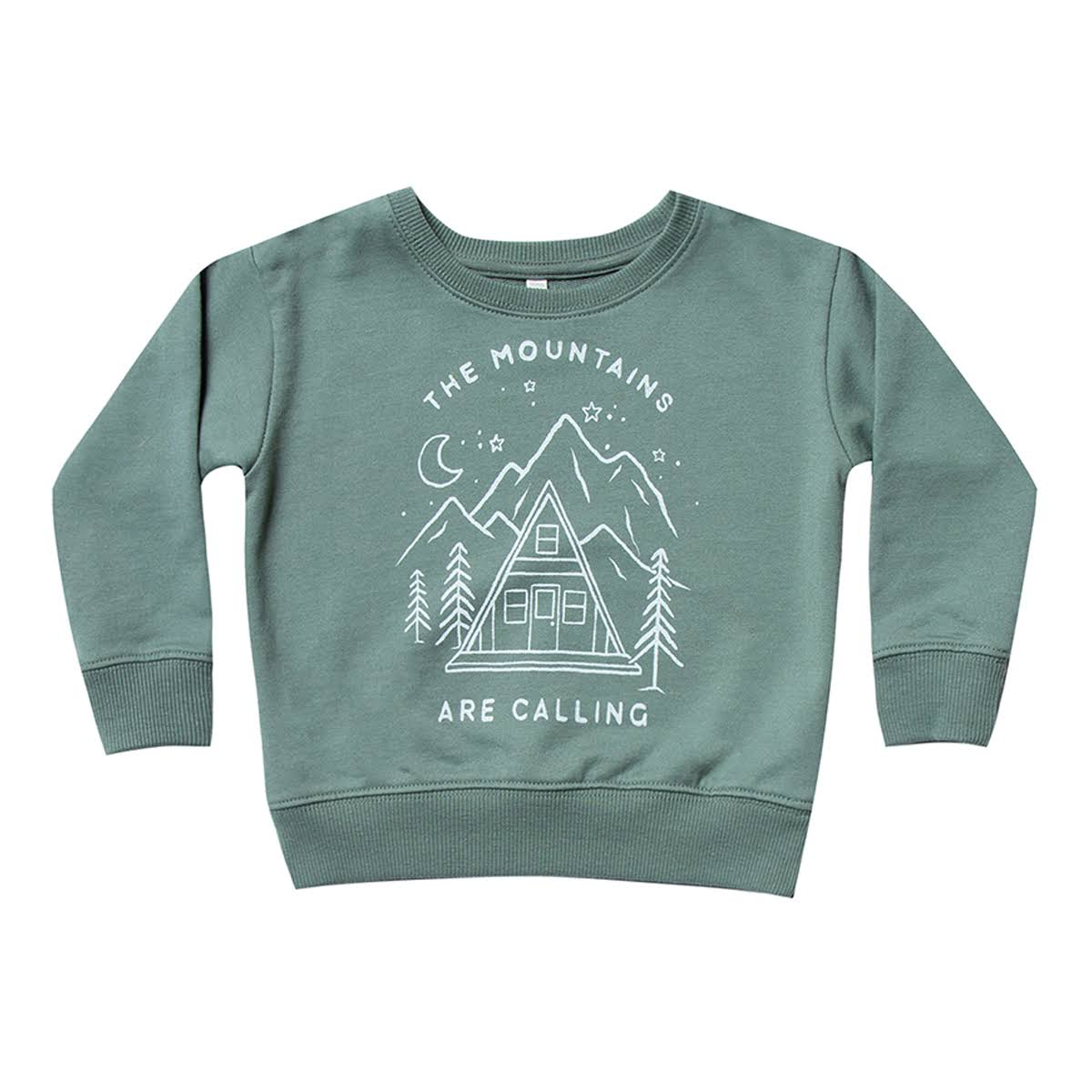 Rylee & Cru Baby Boy Mountains Are Calling Tee