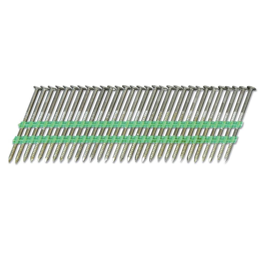 Hitachi Ring Shank Framing Nail - 21 Degree, 2 3/8 x 8D, 5000pcs