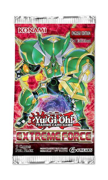 Yu-Gi-Oh!: Extreme Force First Edition Booster Pack - 2 Cards
