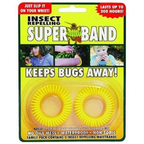 Super-Band Insect Repelling Band - 2ct