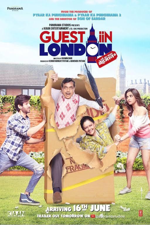 Guest iin London Hindi Movie Download HD DVDRip 720p 2017